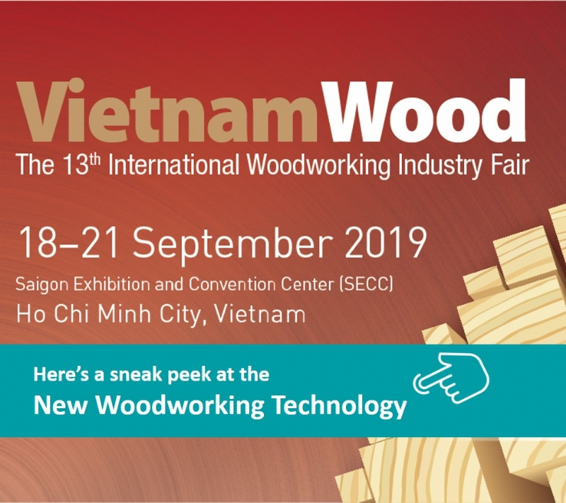2019 The 13th Vietnam International Woodworking Industry Fair