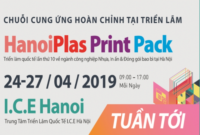 2019 The 10th Hanoi International Plastic & Rubber, Packaging
