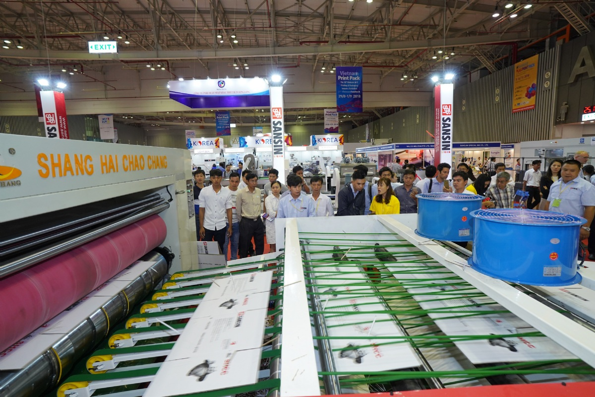 2019 The 19th Vietnam International Printing & Packaging Industry