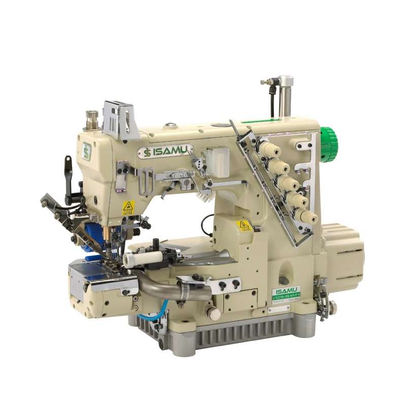 400400 Needle 40040 Thread Cylinder Bed Interlock Sewing Machine For Awesome 4 Needle Elastic Sewing Machine