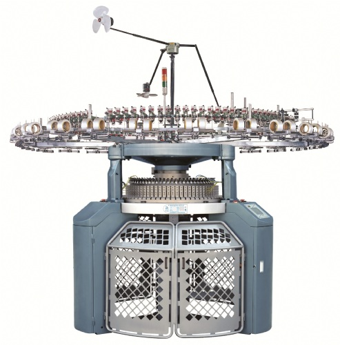 Pai Lung Tai Chi Single Jersey Open Width Knitting Machine